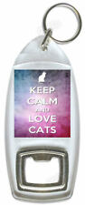 Keep Calm And Love Cats – Bottle Opener
