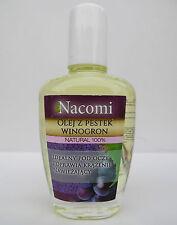 NACOMI 100% Grape seed oil -  30ml -ideal under the eyes, Moisturizing