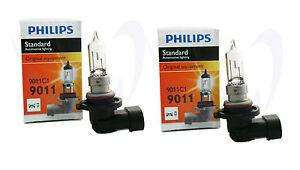 (Pack of 2) Philips 9011 Headlight HIR1 Halogen Chevy Light Bulb Toyota GMC Ford