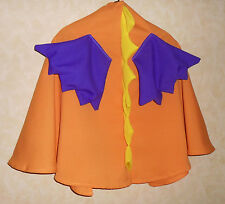 CAPA NARANJA Dragón con púrpura Alas drachenumhang Capa Disfraz de carnaval Ala