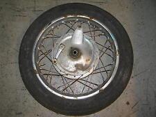 Honda Dream CA 77  Vorderrad mit Ankerplatte front wheel brake plate