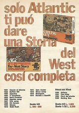 X1380 ATLANTIC - Outlaws and Sheriffs - Pubblicità del 1977 - Vintage advert
