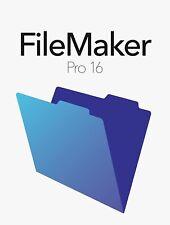 FileMaker Pro 16 Full install Version w/ Lifetime License for Windows Mac