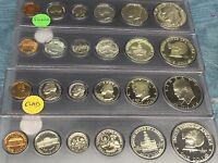 SILVER & CLAD BICENTENNIAL 1976-S GEM DCAM PROOF SETS-12 COINS-COMMEMORATIVE