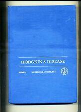 Mortimer J. Lacher,M.D. # HODGKIN'S DISEASE # John Wiley & Sons 1976