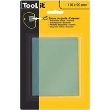 Gys Schutzscheiben klar Techno & Master 11 - 5 Stück 110 x 90 Außenscheiben