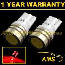 2X W5W T10 501 XENON RED HIGH POWER LED SMD SIDELIGHT SIDE LIGHT BULBS SL100702