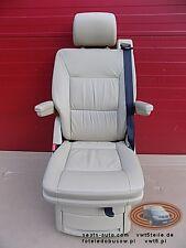 VW T5 Drehsitz Multivan Sitz Beige Leder swivel seat