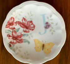 "Lenox Butterfly Meadow Small Dish Letter ""J"" Initial"