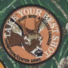 """Thompson/Center Arms Whitetail 4"""" Hunting Patch """"Take Your Best Shot"""""""