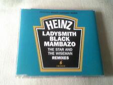 LADYSMITH BLACK MAMBAZO - THE STAR AND THE WISEMEN - 6 MIX UK CD SINGLE