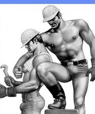 POSTCARD / Tom of Finland / Construction Men / Gay Interest