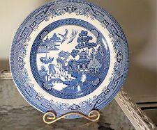 """Blue Willow Churchill England China Dinner Plates 101/4 """" dia free shipping"""