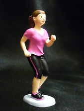 Cake Topper Figure Decoration Birthday Characters - RUNNER JOGGER - Female