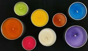 Bulk 8oz candles 4 pack For Retail Max Scented 100% Soy Wax Pick your Scent