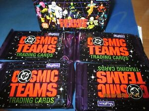 ONE  DC Cosmic Teams  Trading Cards  Sealed & Unopened PacK