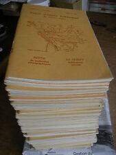 53 VOL REVUE SOCIETE D'ETUDES FOLKLORIQUES DU CENTRE OUEST 1973-82 VENDEE POITOU