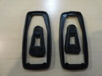 Door Outer External Handle Small Buffer Black VW Bug Triangle T3 Beetle T1 2pcs