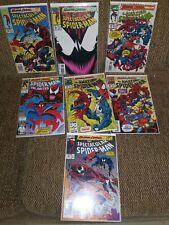 Maximum Carnage set # 1-14 Spider-Man Full Run 1993 W/ Spider-Man Unlimited #1
