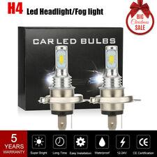 H4 LED Headlight Kit 160W 20000LM Fog Light Bulbs Car Driving DRL Lamp 6000K BLa