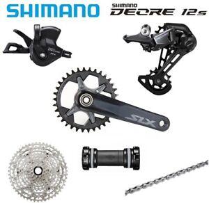 SHIMANO 1X12 12 Speed Build kits Deore M6100 groupset W/SLX M7100 Crankset MT800