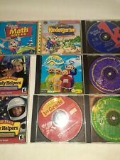 Vtg Pc Computer Games Learning Abc Reading Numbers Jumpstart Reader Rabbit Pre K