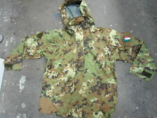 Italian Army Vegetato Camouflage Gore-Tex Jacket with Hood
