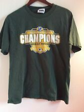 2002 North Division Champions Green Bay Packers NFC NFL  Tshirt  Green  S/M