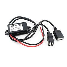 DC Converter 12V to 5V 3A Double 2 USB LW