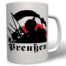 Berlin Preußen Wk Wilhelm Pickelhaube Schwarz Weiß Rot Fahne Tasse #16725