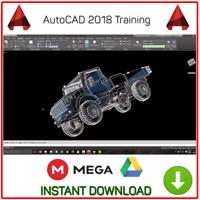 Best AutoCAD 2018 Professional Video Training Tutorial - Instant Download