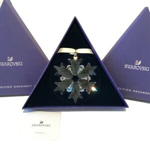 Authentic Swarovski 2018 Hanging Star Crystal Boxed