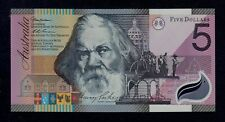 AUSTRALIA  5 DOLLARS 2001 POLYMER  PICK # 56  UNC.