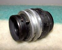 """Rare Cooke Kinic Taylor & Hobson 1"""" 25mm F1.8 C Mount Prime Lens Made In England"""