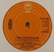 """Abba : Take A Chance On Me : Vintage 7"""" Single from 1977"""