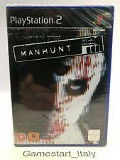 MANHUNT - SONY PS2 - VIDEOGIOCO NUOVO SIGILLATO - PAL UK PRIMA STAMPA - RARO