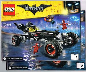 LEGO Instruction Books 70905 NEW Super Heroes - The Batmobile - Batman Manual