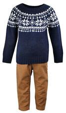 Vêtements en acrylique pour garçon de 2 à 16 ans