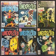 The Unexpected Comics (Lot of 6) Vintage 1970's
