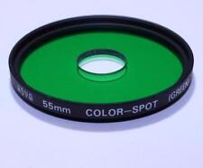 Lens Filter Hoya 55mm Green Color - Spot (Green) FREE Shipping Worldwide