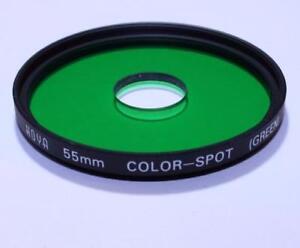Lens Filter Hoya 55mm Green Color - Spot (green) Worldwide