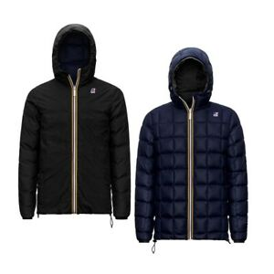 K-WAY Jacques Thermo PLUS.2 Double K111BEW Jacket Reversible Kway A3C 2020/21