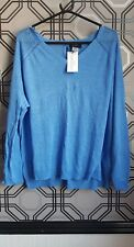 La Redroute Brand New Ladies Blue Long Sleeved Jumper Size 22/24
