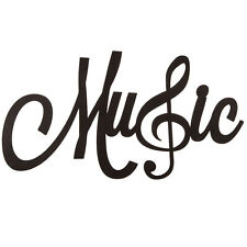 Music Word Wall Decor with Treble Clef. Love, Live, Music Home Decor