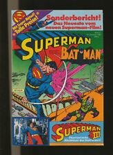 Superman - Batman  Jahrgang 1983  Heft  21  Ehapa Verlag  Zustand 1