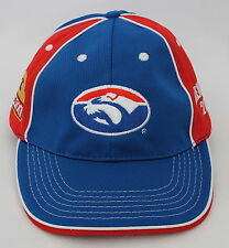 bdac4d07622 New listingBRAND NEW WESTERN BULLDOGS CAP HAT 2011 OFFICIAL AFL FOOTBALL  FOOTSCRAY