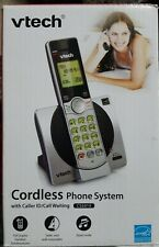 Vtech Cordless Phone Model Cs6919 with Caller Id Feature (Silver)