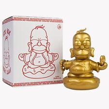 Kidrobot x The Simpsons Homer Simpsons 3inch Golden Buddha