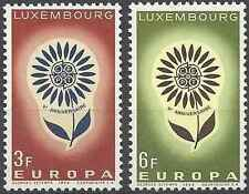 Timbres Europa Luxembourg 648/9 ** lot 21122