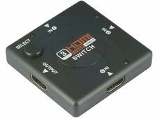 3 Port HDMI Switch Switcher Splitter for HDTV 1080P PS3 xBox Receiver